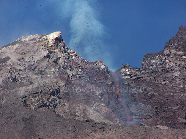 2006 Etna eruption - South East crater