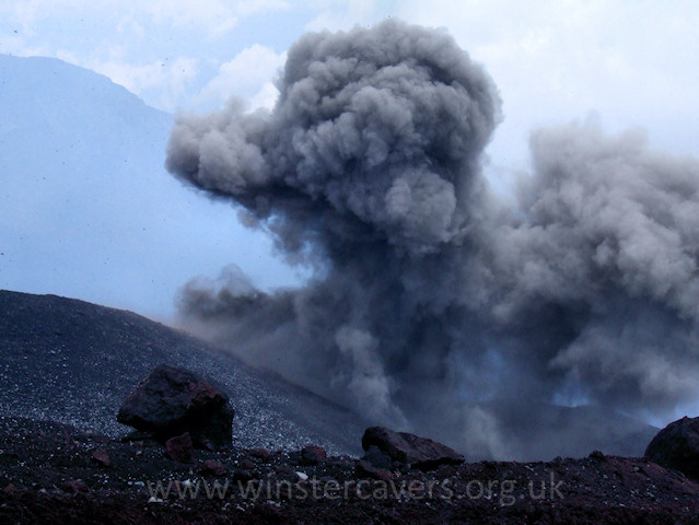 The Bottoniera Eruption, Mount Etna - 2008