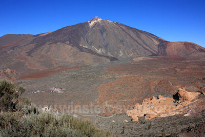 A classic view of Mount Teide, Tenerife