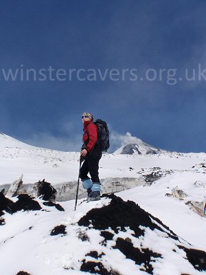 Hiking to the top craters of Mount Etna