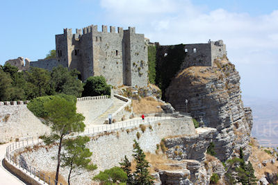 "Erice's ancient ""Castle of Venus"""