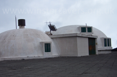 The volcano observatory on Etna Nord - September 2007