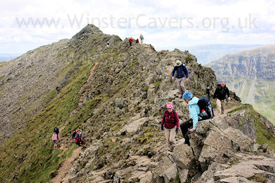 Striding Edge on Helvellyn